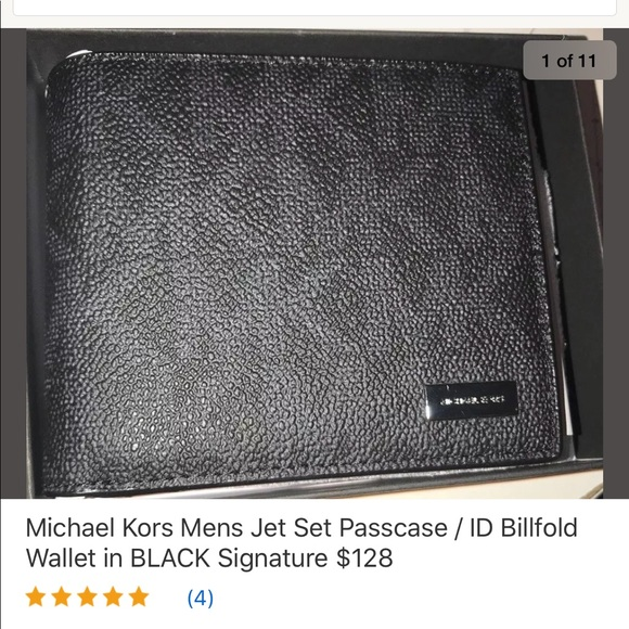 91fee38328cf Michael Kors Bags | Mens Jet Set Pass Case Wallet In Box | Poshmark